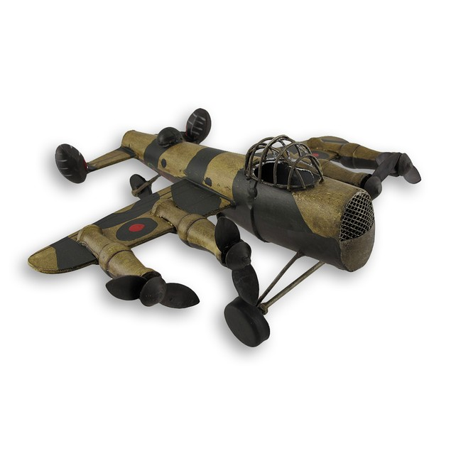 Metal Military Fighter Plane Statue Statues