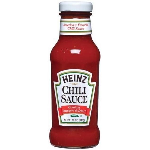 Heinz Chili Sauce 12 oz Bottle