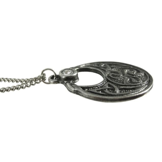 Celtic Warrior Boudica Talisman Pendant Courage Mens Pendant Necklaces