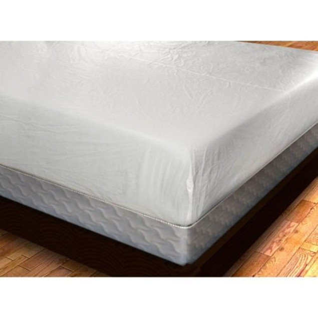 Deluxe Zippered Vinyl Bed Bug Proof Mattress Cover