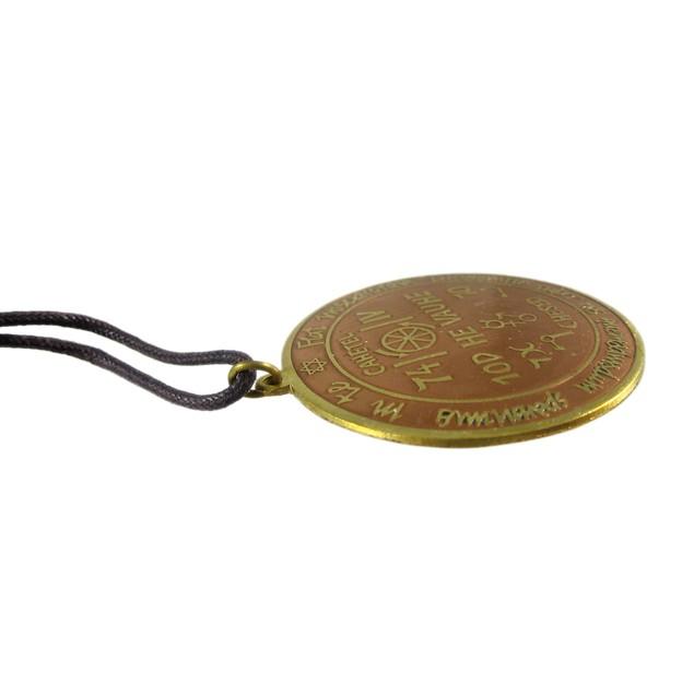 Key Of Solomon Talisman For Success At Work Charm Mens Pendant Necklaces