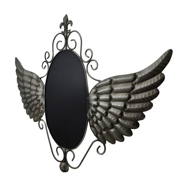 Metal Angel Wings Decorative Chalkboard Wall Chalkboards