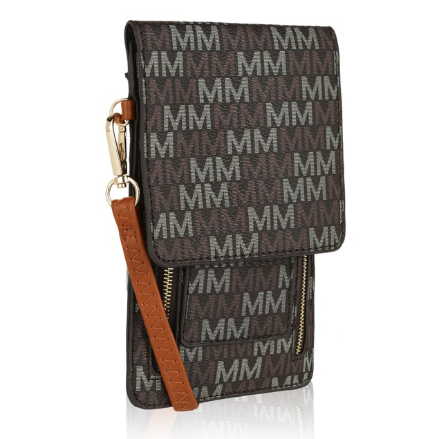 MKF Collection Malinda M Signature Crossbody Bag by Mia K. Farrow