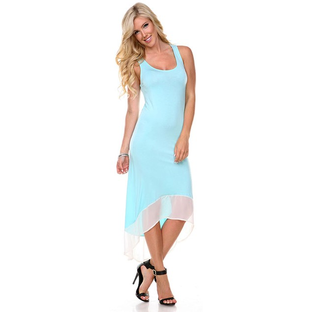 Women's High Low Tank Dress