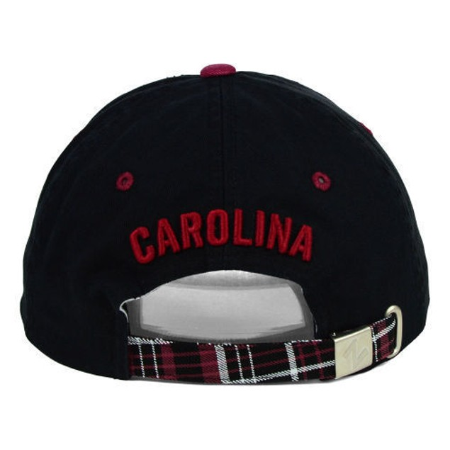 "South Carolina Gamecocks NCAA Zephyr ""Women's Washed Plaid"" Adjustable Hat"
