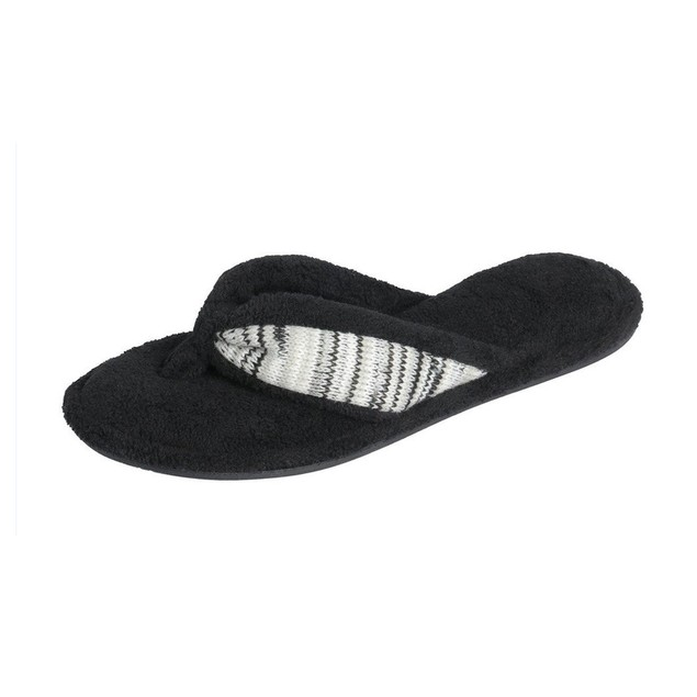 Beverly Rock Women's Terry Spa Thong Flipflop Slippers