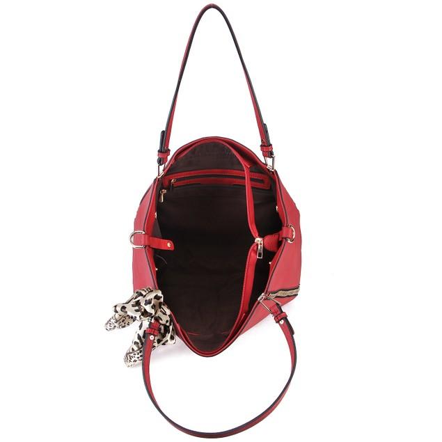 MKF Collection Zara Side Zip Tote by Mia K Farrow