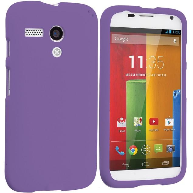 Motorola Moto G Hard Rubberized Case Cover