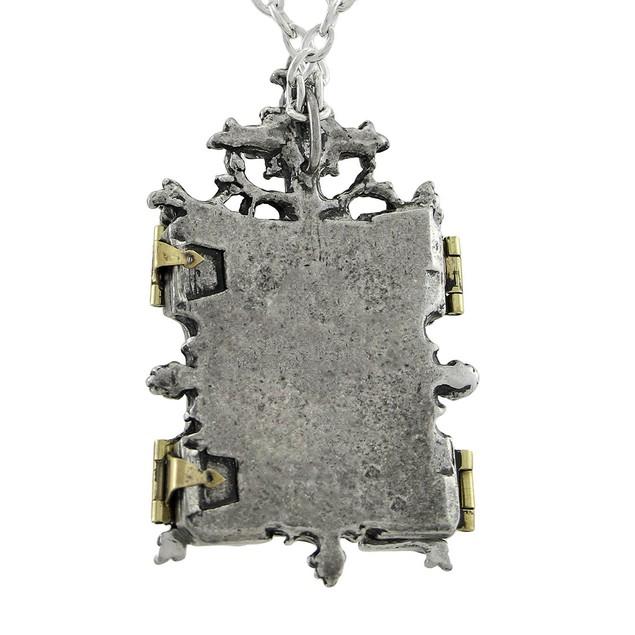 Alchemy Gothic Orthodox Icon Locket W/ Necklace Womens Pendant Necklaces