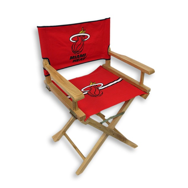 Miami Heat Junior Director`S Chair Childrens Chairs