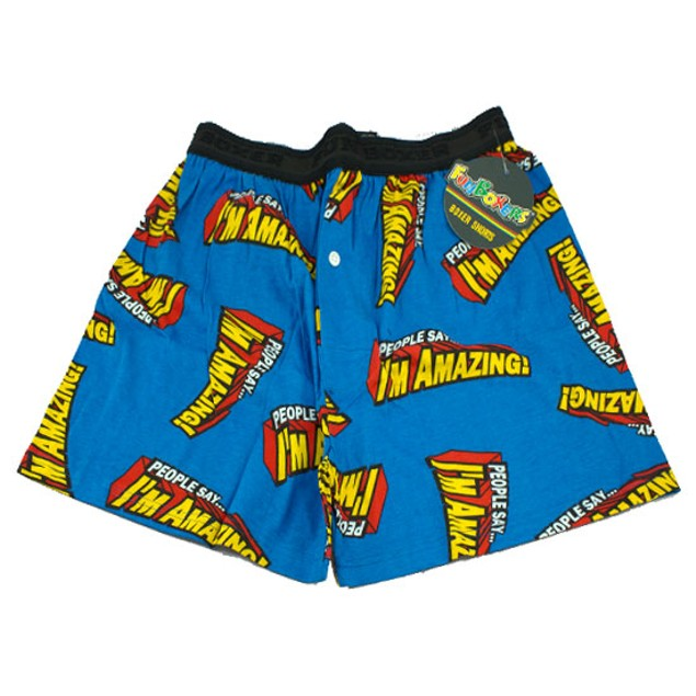 People Say I'm Amazing Boxer Shorts by FunBoxers