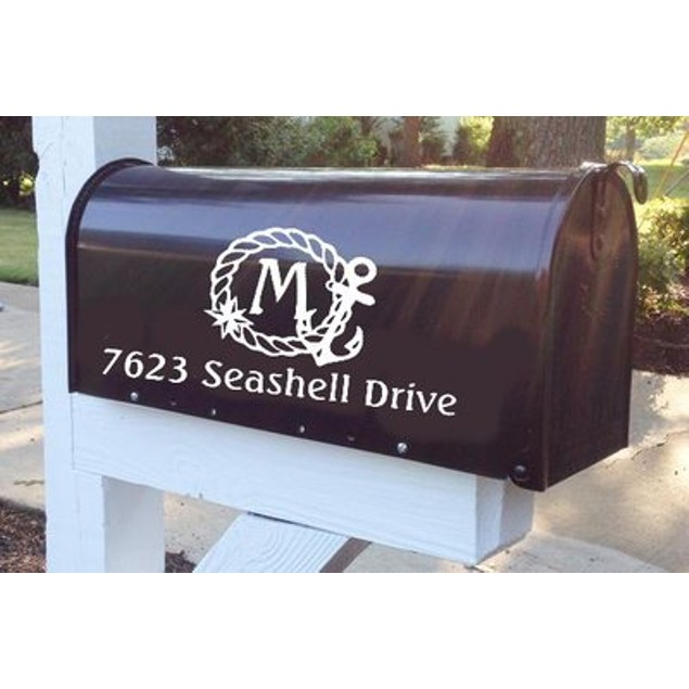 Nautical Vinyl Address Decal