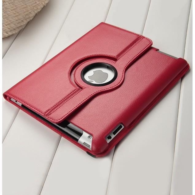 Leather iPad 2/3/4 Case w/ 360° Swivel Stand