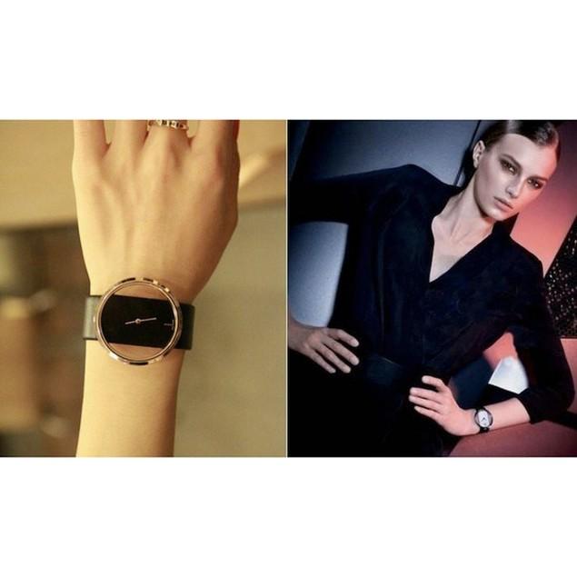 Calvin Klein Inspired Ladies Leather Watch