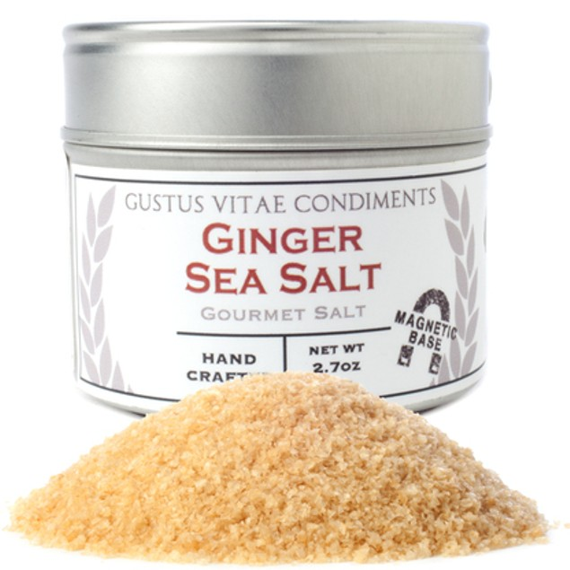 Ginger Gourmet Sea Salt