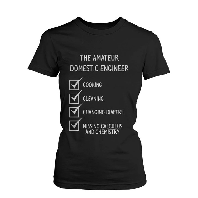 The Amateur Domestic Engineer Graphic T-Shirt