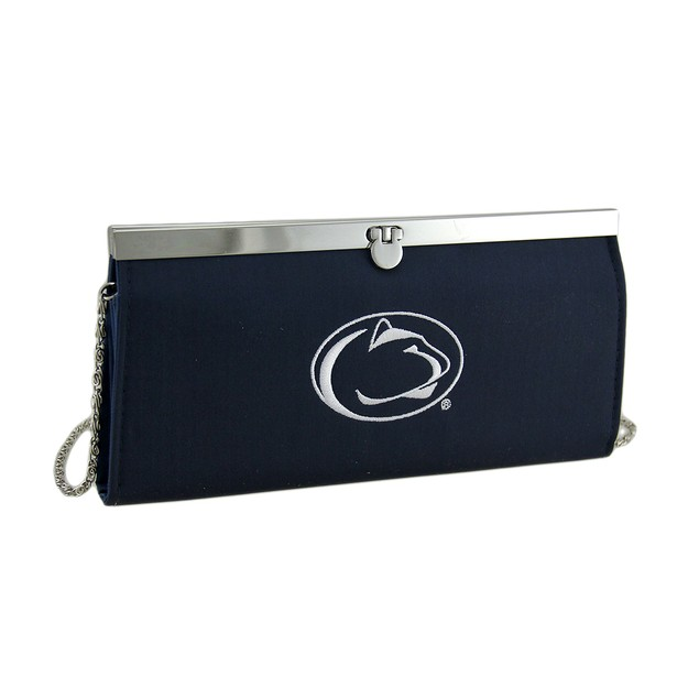 Embroidered Penn State Fabric Clutch Wallet Sports Fan Wallets