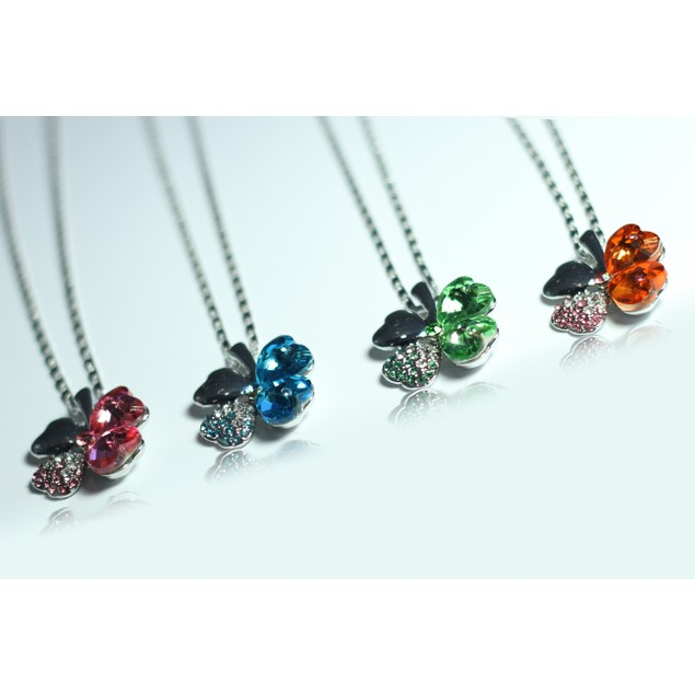 Lucky Clover Necklaces - 6 Colors