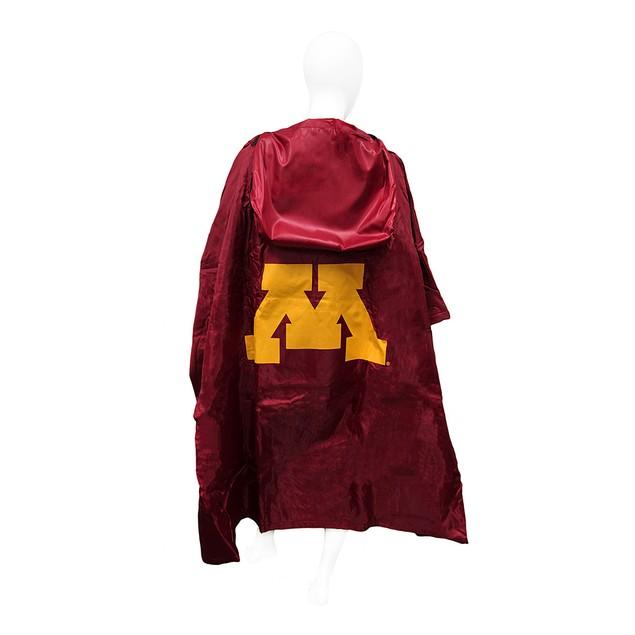 Minnesota Gophers 3 In 1 Poncho/Blanket/Stadium Mens Fleece Outerwear