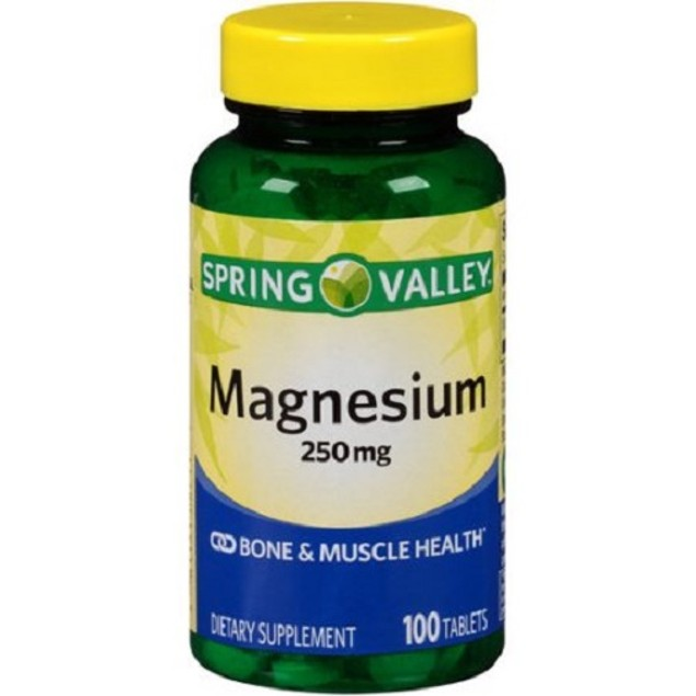 Spring Valley Magnesium 250 mg Bone & Muscle Health