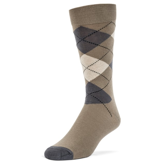 Galiva Men's Cotton Assorted Argyle Dress Socks - 4 Pairs