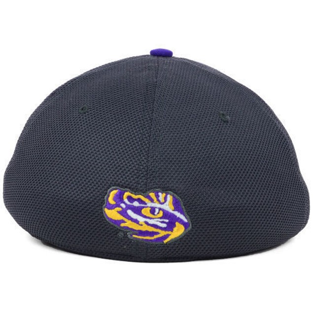 """LSU Tigers NCAA Nike Legacy 91 """"Conference"""" Swoosh Flex Fitted Hat"""