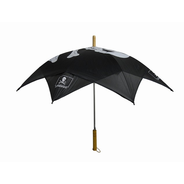 Jolly Roger Skull & Crossbones Umbrella Pirate Umbrellas