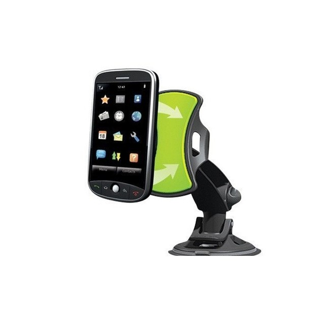 Two GripOn Universal Car Phone Mounts