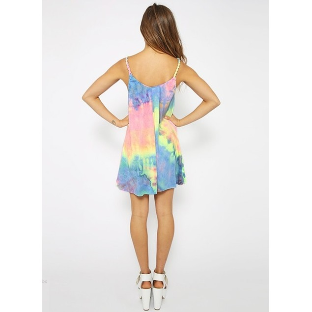 Multi-Color Summer Dress