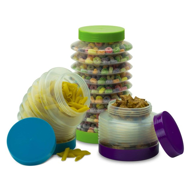Smart Planet Boing Collapsible Canisters - Set of 3