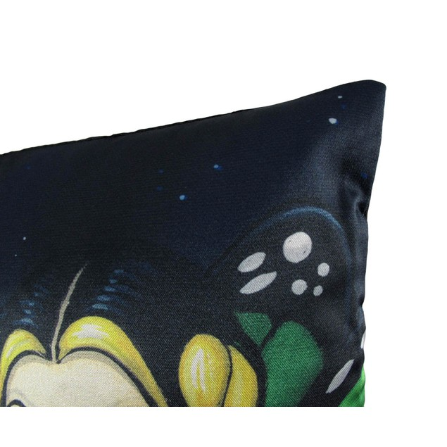 Three Wise Fairies 14In.X14in. Satin Decorative Throw Pillows