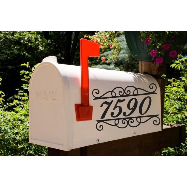 Mailbox Decal Design 49