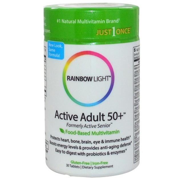 Rainbow Light Active Adult 50+