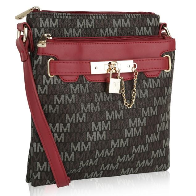 MKF Collection Gia M Signature Crossbody Bag by Mia K Farrow
