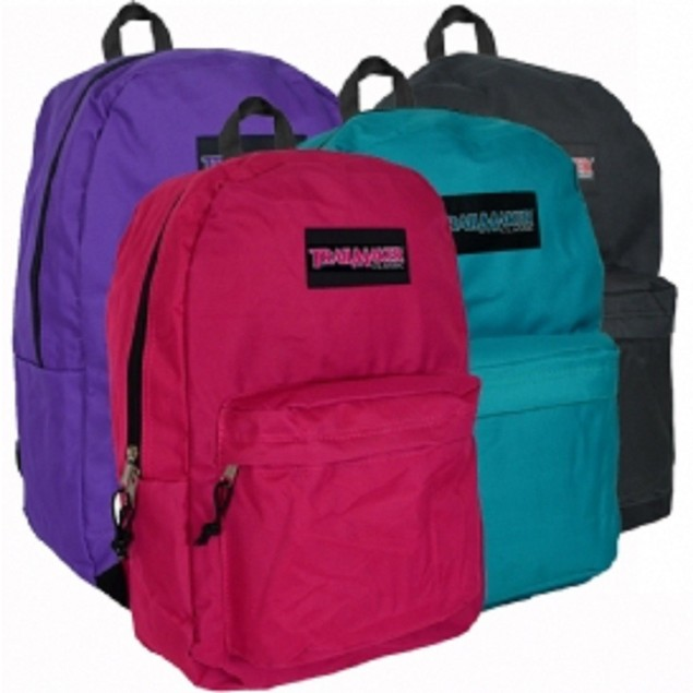 "Trailmaker Classic 17"" Backpack Assorted Colors Girls and Boys"