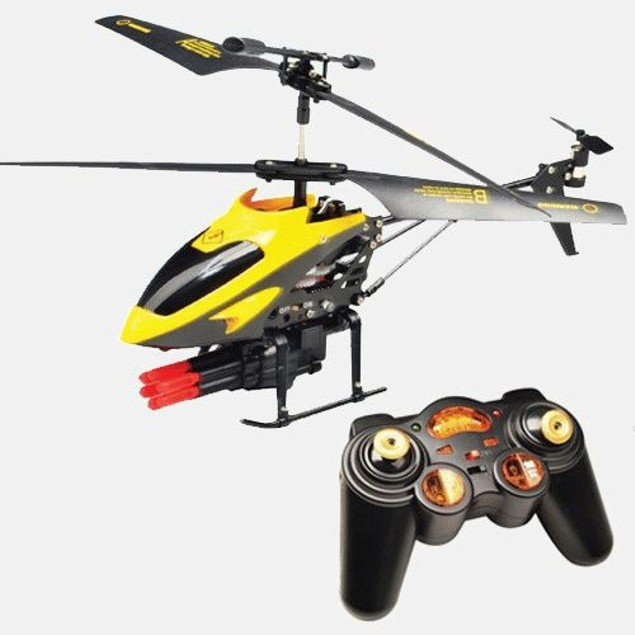 Hype RC Battle Chopper with Missile Launcher