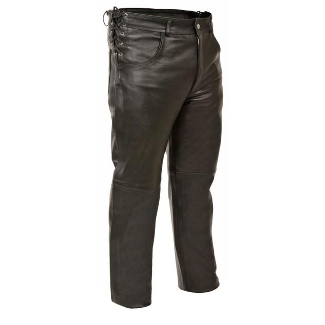 Mens Deep Pocket Over Pants - Side Lace Fit Mens Chaps