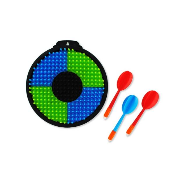 Plastic toy dartboard