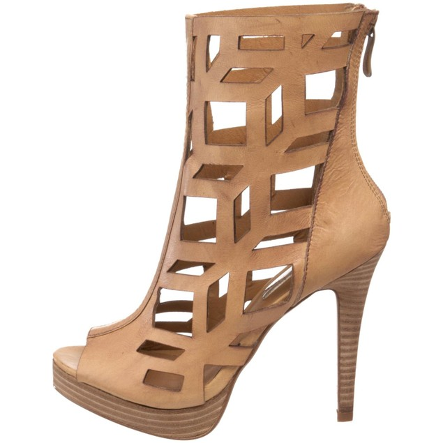 Two Lips Women's Leverage High Heels - Natural