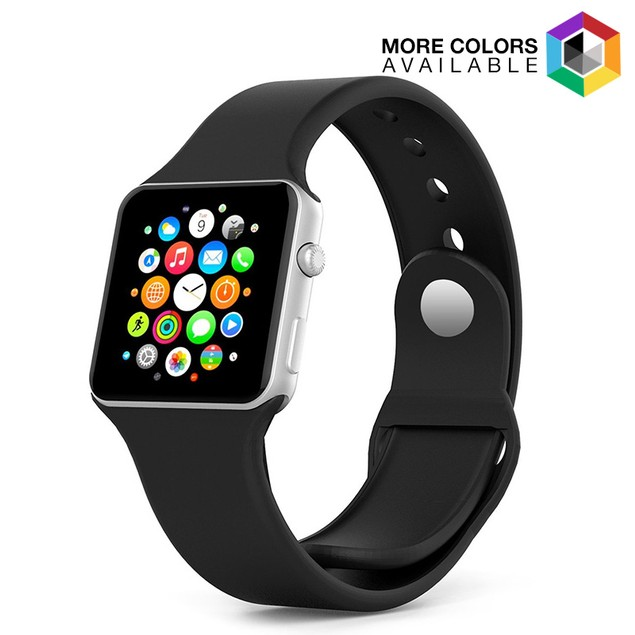 Waloo Apple Watch Rubber Sport Replacement Bands