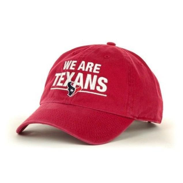 "Houston Texans NFL 47' Brand ""We Are Texans"" Adjustable Hat"