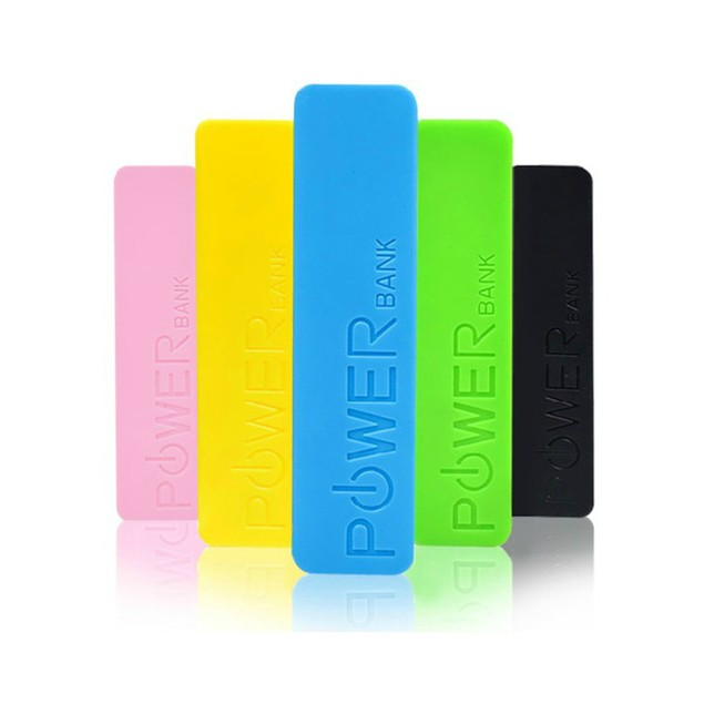 2-Pack 2600 mAh Power Banks  Assorted Colors