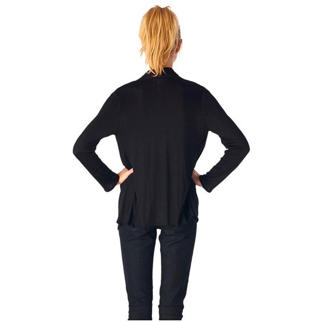 Ladies Rayon Spandex Super Comfortable Classic Cardigan