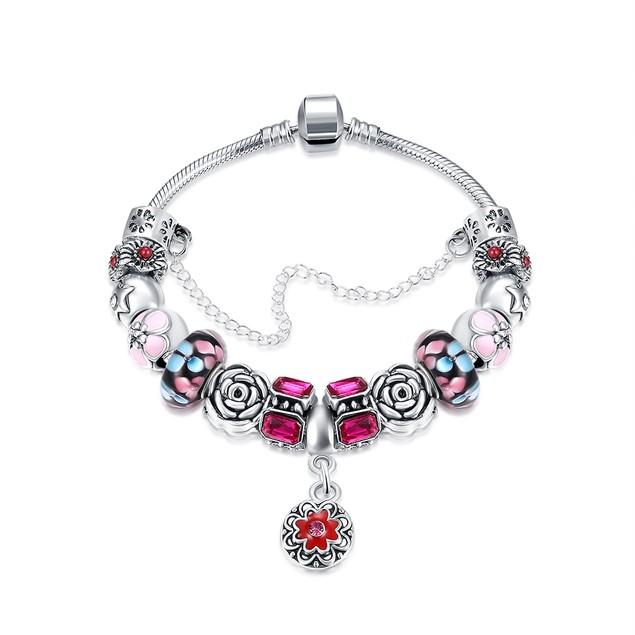 Purple Passion Petite Emblem Designer Inspired Bracelet