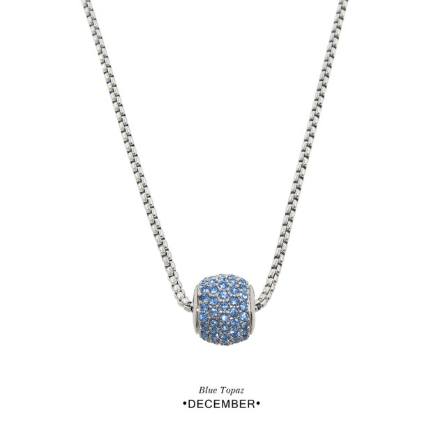 Crystal Birthstone Pendant Necklaces - Choose from 12 Colors!