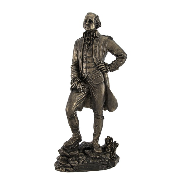 Bronzed President George Washington Standing Statues