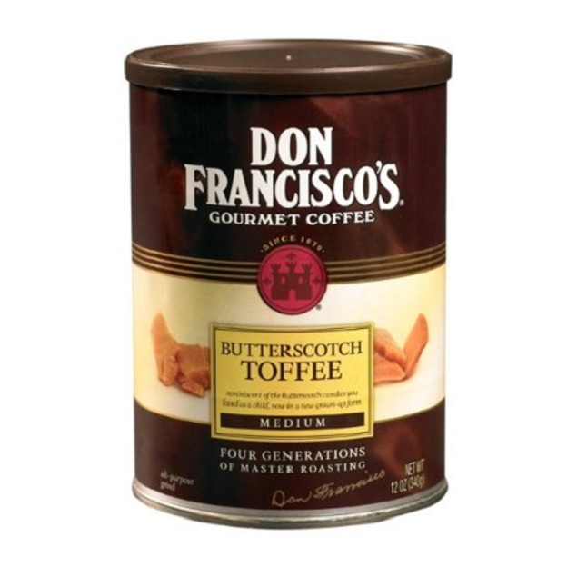 Don Francisco's Gourmet Coffee Butterscotch Toffee