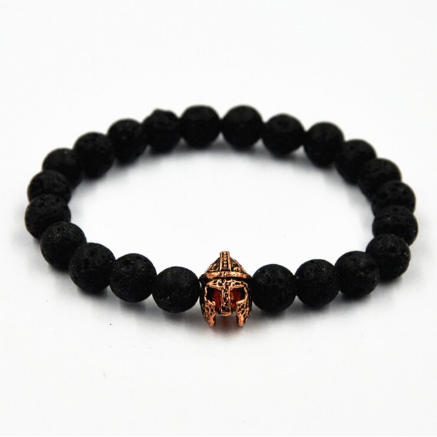 Roman Warrior Helmet Men's Bracelet