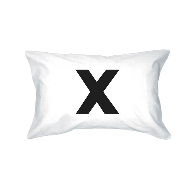 X O Funny Pillowcases