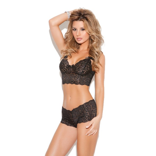 Stretch Lace Lingerie Set - Regular and Plus Size